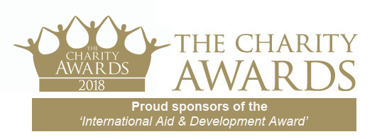 The Charity Awards 2018 - Proud Sponsors of the International Aid & Development Award